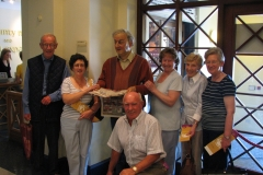 Fergal Crowley, Helena Long RIP, Liam O'hUigín, Kay Scott, Maura Curtin RIP and Marie Finn at Tralee Museum in 2007.