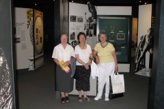 Sr Joachim RIP, Maureen Holland and Maura Sheahan at Tralee Museum in 2007.