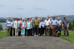 Members of the Society at Bantry House in 2008.