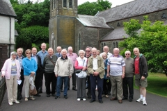 Members of the Society at Skibereen in 2016.