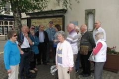 Some of our members during a walking tour of Skibereen in 2016.