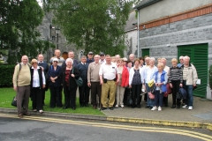 Members of the Society at Adare in 2014.
