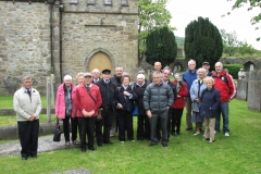 Members of the Society at Clonmel in 2015.