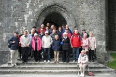 Members of the Society at the Rock of Cashel in 2015.