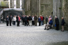 At the Rock of Cashel in 2015.
