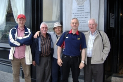 Dermot Houston, Mick Murphy, Richard T.Cooke, Ronnie Herlihy and John Creed at Waterford in 2006.