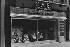 CAB Motors premises at 27 Grand Parade in 1947. Image courtesy of CAB Motor Company, Monahan Road, Cork.