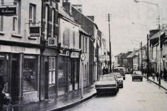 Barrack Street in 1976. Image from the Evening Echo.