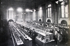 Bird Shows were held regularly in the Assembly Rooms on South Mall, as seen in this c.1900 photo. Image from the Evening Echo.