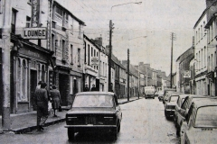 Barrack Street in 1980. Image from the Evening Echo.