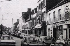 Barrack Street in 1983. Image from the Evening Echo.