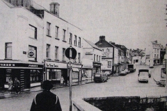 Barrack Street in 1984. Image from the Evening Echo.