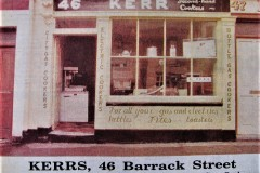 An ad from the Evening Echo in 1988 for this Barrack Street business.