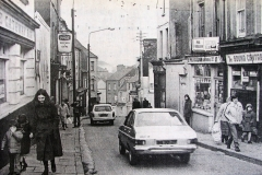Barrack Street in 1981. Image from the Evening Echo.