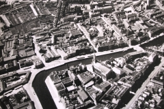 A 1945 aerial view of the central South Parish area. Image courtesy of Cork City LIbrary.