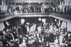 An exhibition at the old City Hall in 1914. Six years later the building would be destoyed by the Crown Forces during the Burning of Cork. Image from the Cork Examiner.