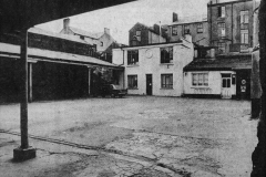 Conway's Yard in 1972. It was located off Oliver Plunkett Street, behind where Casey's Furniture store is today. Image from the Evening Echo.