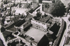 Detail from a 1945 aerial view focusing on Elizabeth Fort and surrounding streets. Image courtesy of Cork City Library.